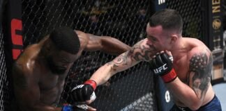Colby Covington and Tyron Woodley, UFC Vegas 11