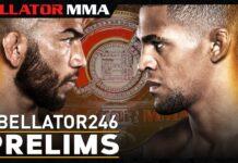 Bellator 246 live stream prelims poster