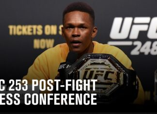UFC 253 post-fight press conference live stream