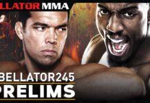 Bellator 245 prelims