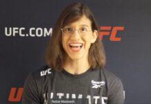 Roxanne Modafferi UFC Vegas 10