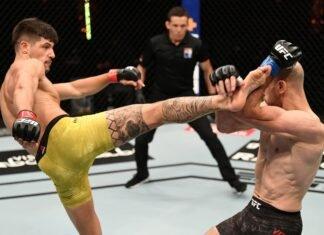 Joel Alvarez and Alexander Yakovlev, UFC 254