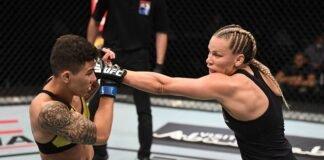Jessica Andrade and Katlyn Chookagian, UFC FIght Island 6