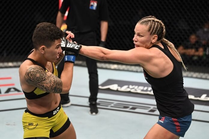 Jessica Andrade and Katlyn Chookagian, UFC FIght Island 6