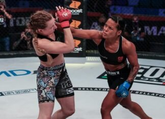 Denise Kielholtz vs Kate Jackson, Bellator 247