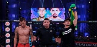 Leandro Higo and Ricky Bandejas, Bellator 249