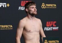 UFC Vegas 12 Bryce Mitchell