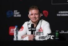 Casey Kenney UFC 254
