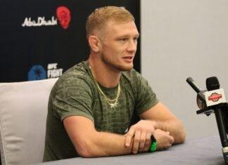 Casey Kenney, UFC 254 media day