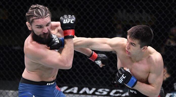 Alexander Hernandez and Chris Gruetzemacher, UFC Vegas 12