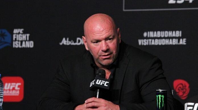 Dana White UFC 254