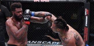 Greg Hardy and Maurice Green, UFC Vegas 12