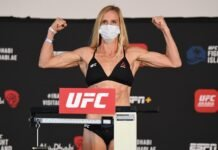Holly Holm UFC Fight Island 4