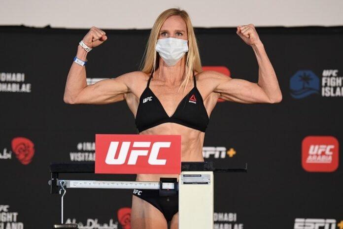 Holly Holm UFC Fight Island 4