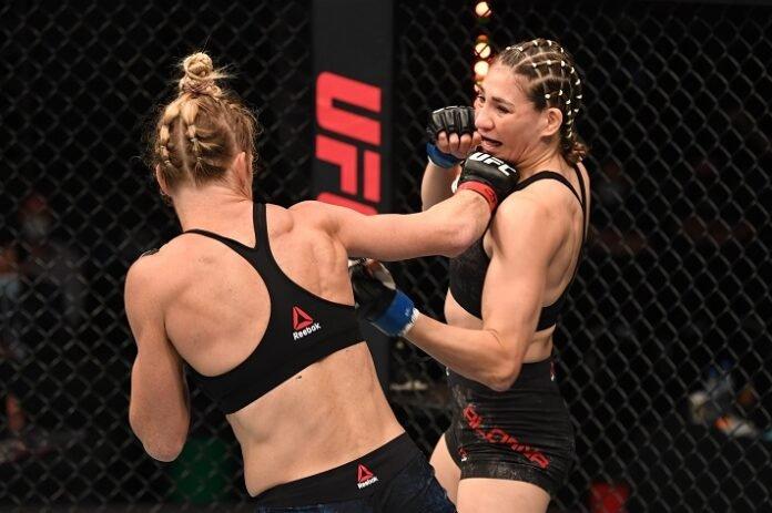 Holly Holm and Irene Aldana, UFC Fight Island 4