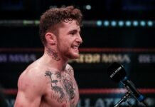 James Gallagher Bellator Europe 9