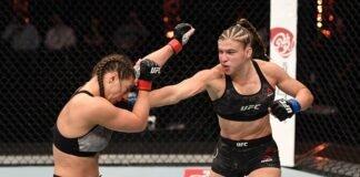Liana Jojua and Miranda Maveric, UFC 254