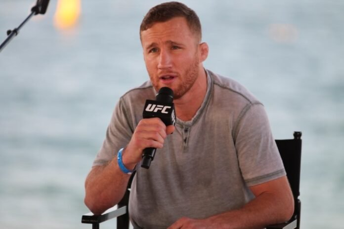 Justin Gaethje, UFC 254 press conference