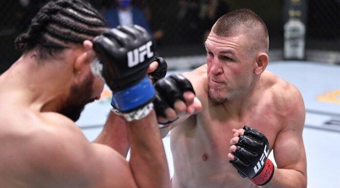 Justin Ledet and Dustin Jacoby, UFC Vegas 12