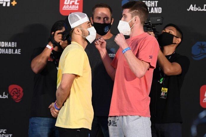 Marlon Moraes and Cory Sandhagen UFC Fight Island 5