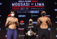 Gegard Mousasi and Douglas Lima, Bellator 250