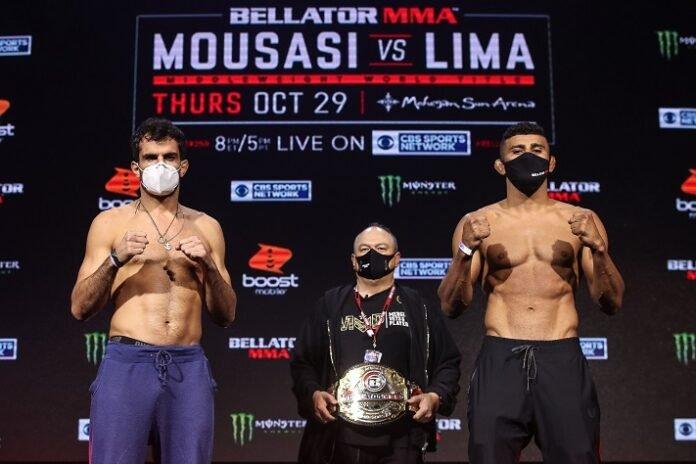Gegard Mousasi and Douglas Lima, Bellator 250