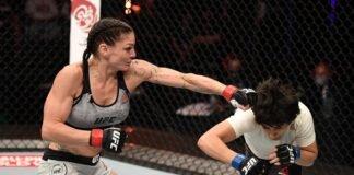 Lauren Murphy and Liliya Shakirova, UFC 254