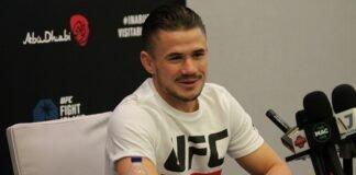 Nathaniel Wood UFC 254 media day