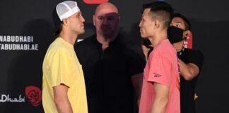 Brian Ortega and the Korean Zombie, UFC Fight Island 6 Chan Sung Jung