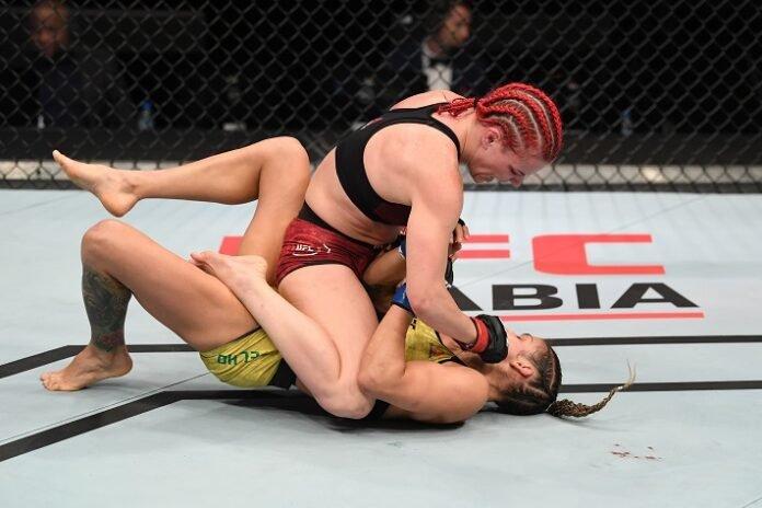 Gillian Robertson and Poliana Botelho, UFC Fight Island 6