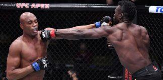 Anderson Silva and Uriah Hall, UFC Vegas 12