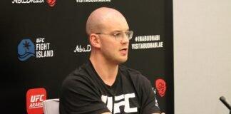 Stefan Struve UFC 254 media day