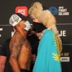 UFC 254 Alex Oliveira Shavkat Rakhmonov