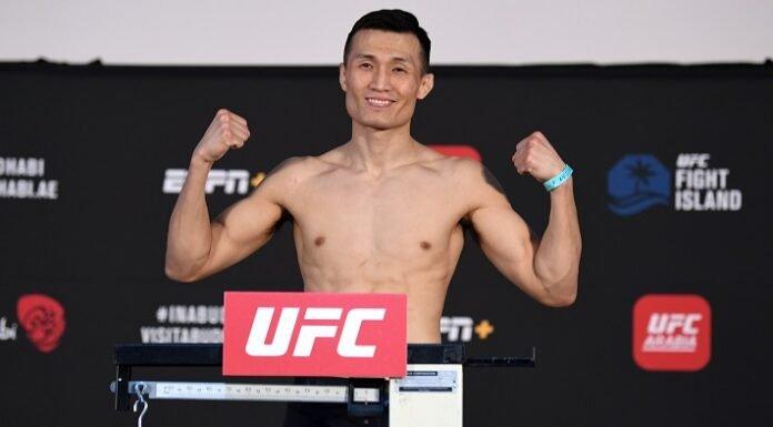 UFC Fight Island 6 Chan Sung Jung Brian Ortega
