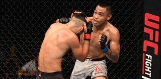 UFC Fight Night Jourdain v Culibao