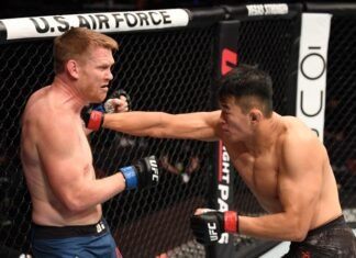 UFC 254 Da Un Jung Sam Alvey