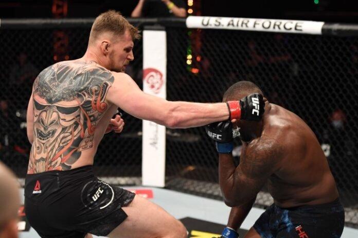 UFC 254 Alexander Volkov Walt Harris