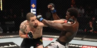 UFC 254 Robert Whittaker Jared Cannonier
