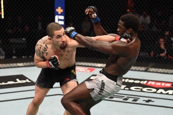 UFC 254 Robert Whittaker Jared Cannonier