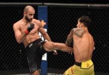 UFC Fight Island 5 Giga Chikadze Omar Morales