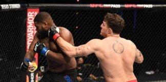 UFC Fight Island 5 Tom Aspinall Alan Baudot