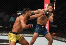 UFC Fight Island 5 Edson Barboza Makwan Amirkhani