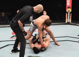 UFC Fight Island 6 Said Nurmagomedov Mark Striegl