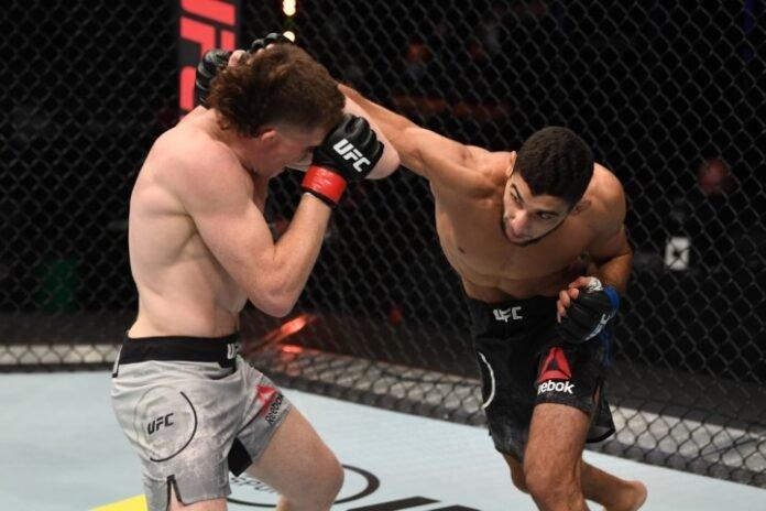 UFC Fight Island 6 Jamie Mullarkey Fares Ziam