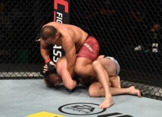 UFC Fight Island 6 Jun Yong Park