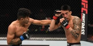 UFC Fight Island 6 Jonathan Martinez Thomas Almeida