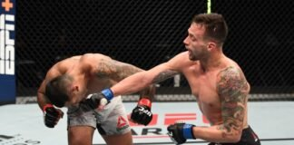 UFC Fight Island 6 Claudio Silva James Krause