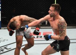 UFC Fight Island 6 Claudio Silva James Krause