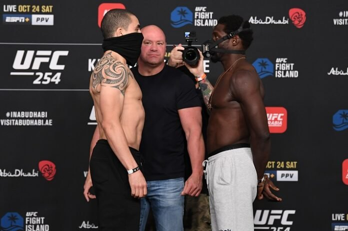 Robert Whittaker and Jared Cannonier