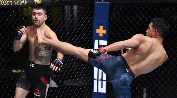 Adrian Yanez and Victor Rodriguez, UFC Vegas 12